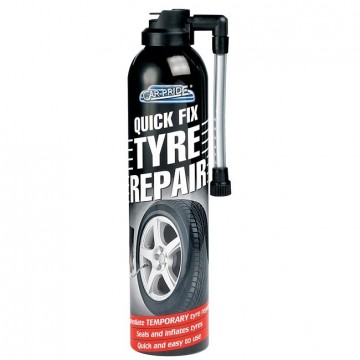 CAR PRIDE QUICK FIX TYRE REPAIR 300ml
