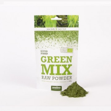 Purasana Green Mix Powder ØKO Rawfood 200 g