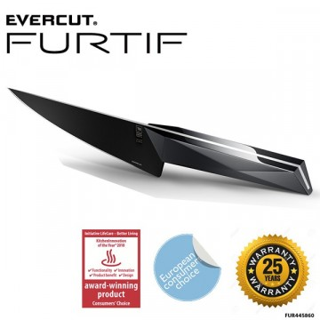 EVERCUT FURTIF Chef knife - 19 cm– Livstidgaranti - Skarp i 25 år