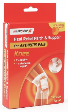 Masterplast HEAT RELIEF PATCH - KNEE