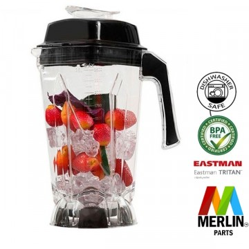 RAW/MERLIN Beholder BPA fri  2.5 liter 8 blader for RAW X6000 4 HK og RAW X780