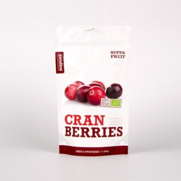 Purasana Cranberries ØKO Rawfood 200 g