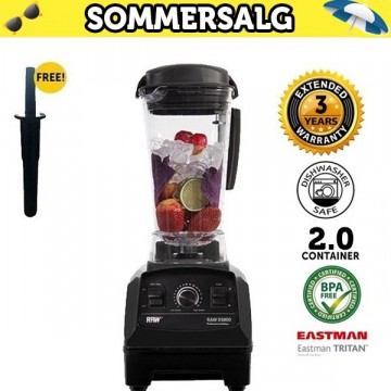 SOMMERKUPP: RAW X 5800 2.5  HK 1800 W SORT