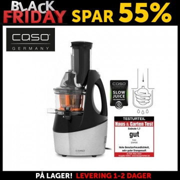 BLACK FRIDAY: Caso SJW 450 Slow Juicer AC motor