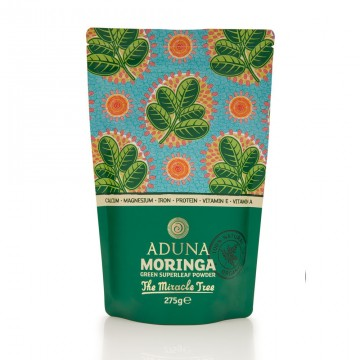 Aduna Moringa Superleaf Powder ØKO Rawfood 275 g