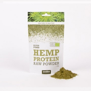 Purasana Hemp Protein Powder ØKO Rawfood 200 g