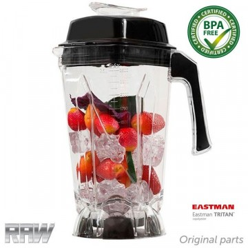RAW Beholder BPA fri  2.5 liter 8 blader for RAW X6000 og X780