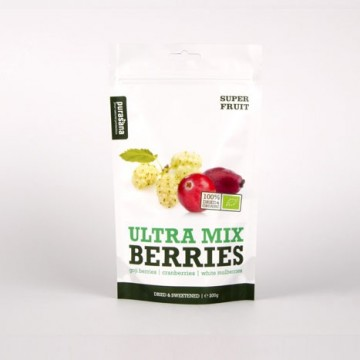Purasana Ultra Berry Mix ØKO Rawfood 200 g