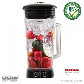 RAW Beholder BPA fri 2.0 liter 6 Blader for x6000/9000/9300/9500 2,5 - 4 hk